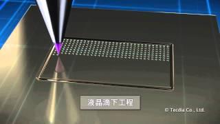 液晶パネル製造(液晶塗布工程)でのディスペンサーノズル応用事例