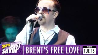 David Brent & Foregone Conclusion perform Free Love Freeway - Just Sayin