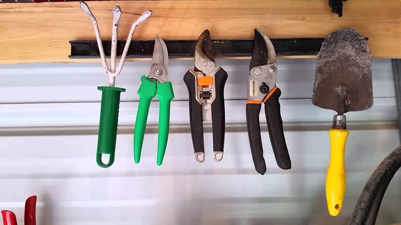 How To Organizing Garden Tools
