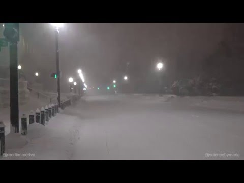 Snow storm Washington D.C Live Blizzard AmeriCan TV
