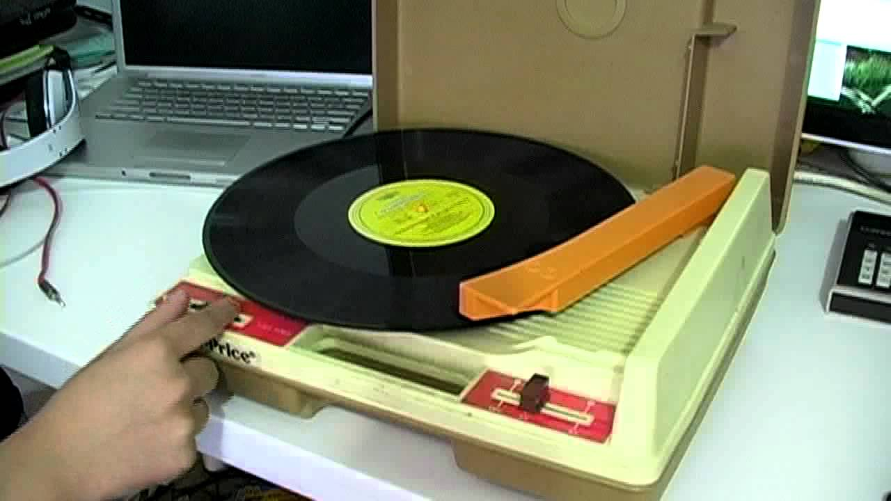 1978 Fisher Price Turntable Record Player Youtube