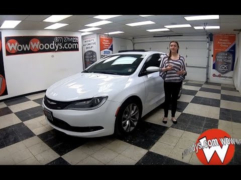 Used 2015 Chrysler 200 S Review | Video Walkaround | Used Cars and Trucks for sale at WowWoodys
