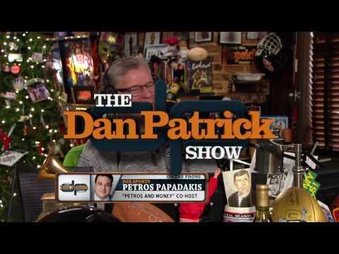 Petros Papadakis on The Dan Patrick Show (Full Interview) 1/13/17