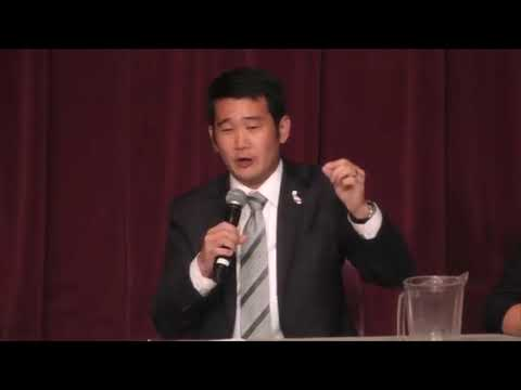 Dave Min at CA-45 Candidate Forum