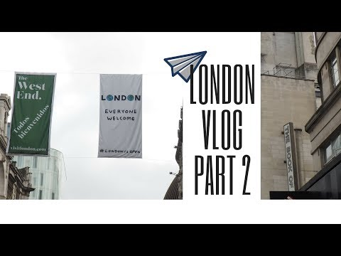 London VLOG 2 - Strolling around London, Books & Streetartists
