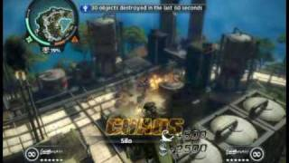 Just Cause 2 fun with silos