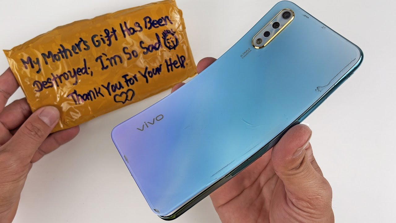 How to restore Vivo S1 Cracked Phone - Restoring Destroyed Phone