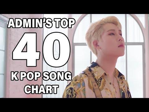 Top 40 K Pop Songs • Admin's Chart (September 2018 - Week 1)