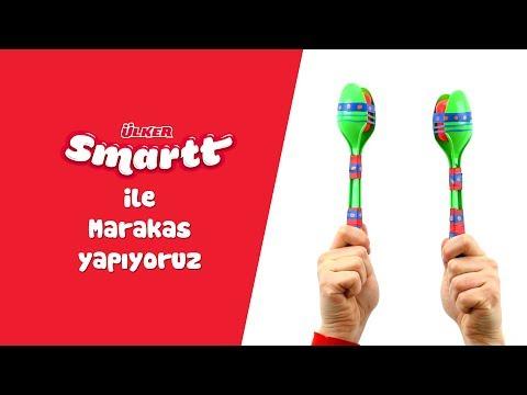 Ülker Smartt Oyun Atölyesi Ile Marakas Müzik Aleti Yapıyoruz