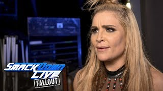 Natalya is livid after her title match was interrupted: SmackDown LIVE Fallout, Nov. 21, 2017