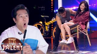 This man can BALANCE ANYTHING and EVERYTHING!   China's Got Talent 2019 中国达人秀