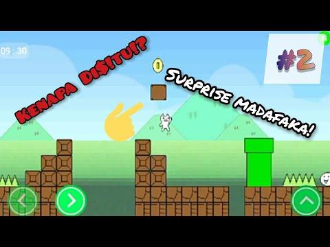 Cat Mario Android (2) KENAPA DISITU!??