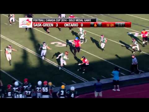 Jevante Stanley 2014 Football Highlights