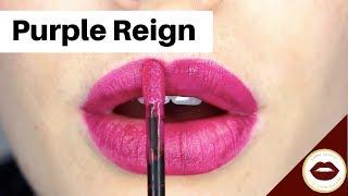 PURPLE REIGN: LipSense Application