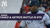 Yanks rally with 3-run 9th to thwart Astros