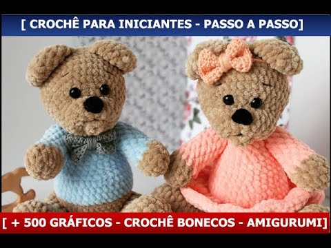 How to crochet a basic teddy bear / amigurumi bear - Buttons ... | 360x480