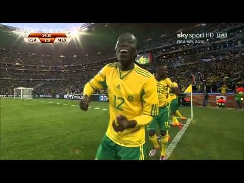 Tshabalala Goal VS Mexico In World Cup 2010 HD