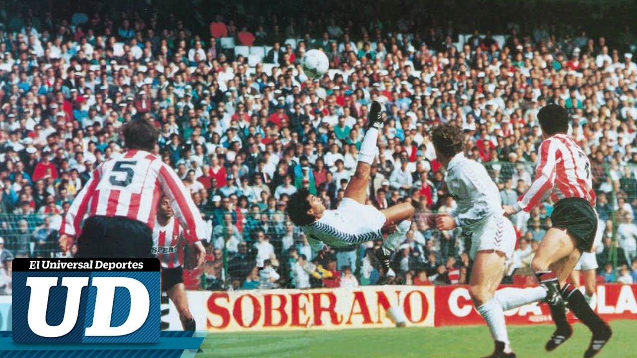 32 Años Del Señor Gol De Hugo Sánchez En El Real Madrid Youtube