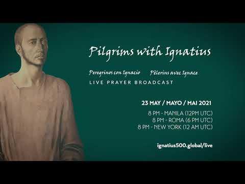 Pilgrims with Ignatius | LIVE PRAYER BROADCAST INVITATION