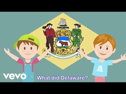 evokids - What Did Delaware (with Lyrics)