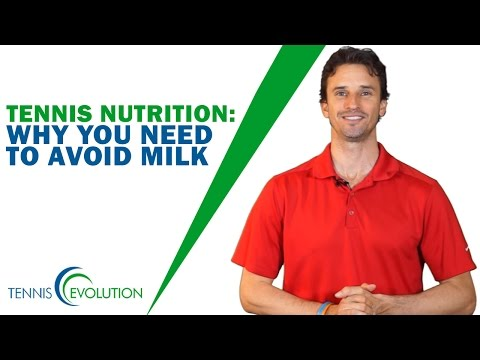 TENNIS NUTRITION | Why You Need To Avoid Milk