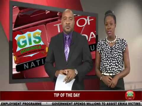 GIS Dominica, National Focus for August 31, 2016