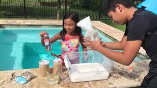 Mermaid & Shark DIY Sand Slime | Toys Academy