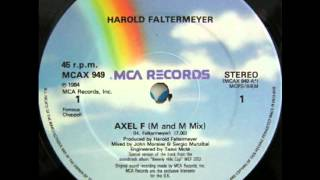 Harold Faltermeyer - Axel F (M & M  Mix)