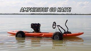 Amphibious Go Kart Build!
