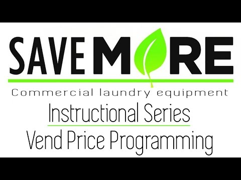 How To Program The Vend Price On An LG Commercial Washer