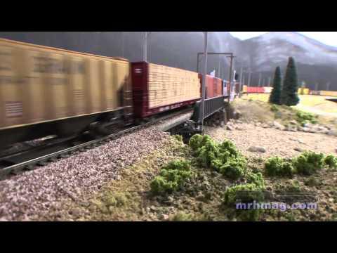 Bill Heiden's Milwaukee Road Railroad  | Grand Rails 2012 | Model Railroad Hobbyist