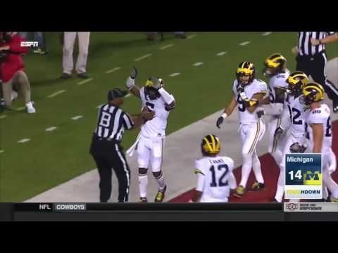 2016 Michigan Football Highlights at Rutgers