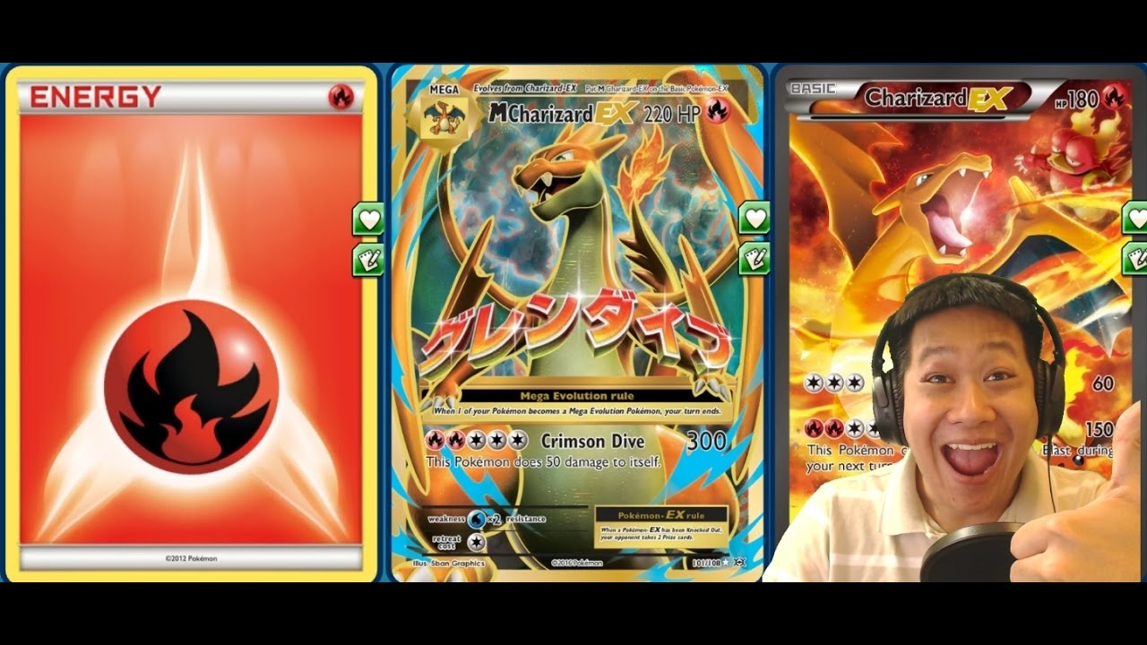 New Mega Charizard Deck Y 300 Dmg 1 Hit Ko Shrine Of Memories Booster Blw 60 Build Youtube