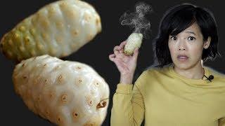 NONI - Vomit Cheese Puke  Fruit TASTE Test | FRUITY FRUITS