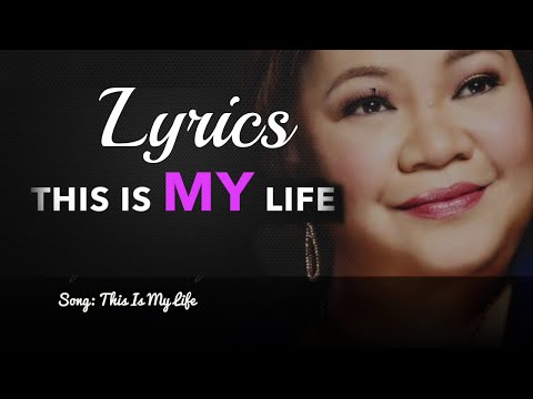 This is My Life [Lyrics] on full screen - Rose Fostanes Lyrics Video Favorite