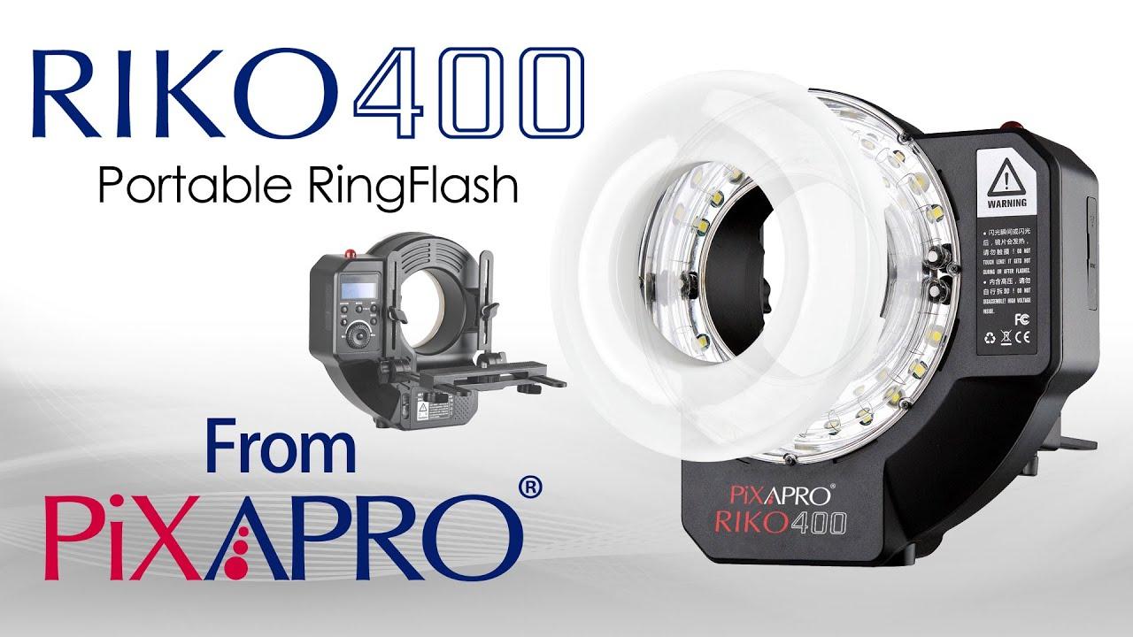 RIKO400 Portable Ring Flash - Pixapro