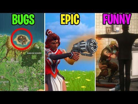 HIDDEN MAP BUG? BUGS vs EPIC vs FUNNY - Fortnite Battle Royale Funny Moments