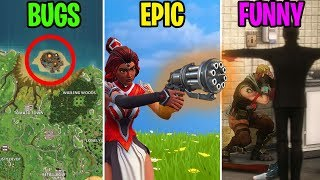 HIDDEN MAP BUG? BUGS vs EPIC vs FUNNY - Fortnite Battle Royale Funny Moments