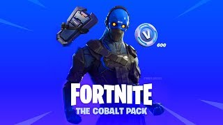"NEW ""Cobalt"" STARTER PACK! Fortnite Battle Royale Season 7 Live Gameplay"