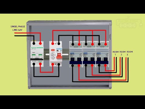 Distribution db box wiring diagram