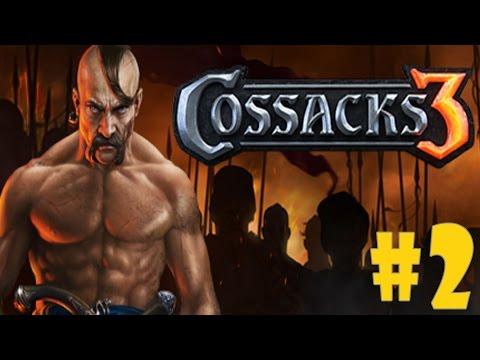 Cossacks 3 - Walkthrough - Part 2 - War Ruse   War (PC HD) [1080p60FPS]  