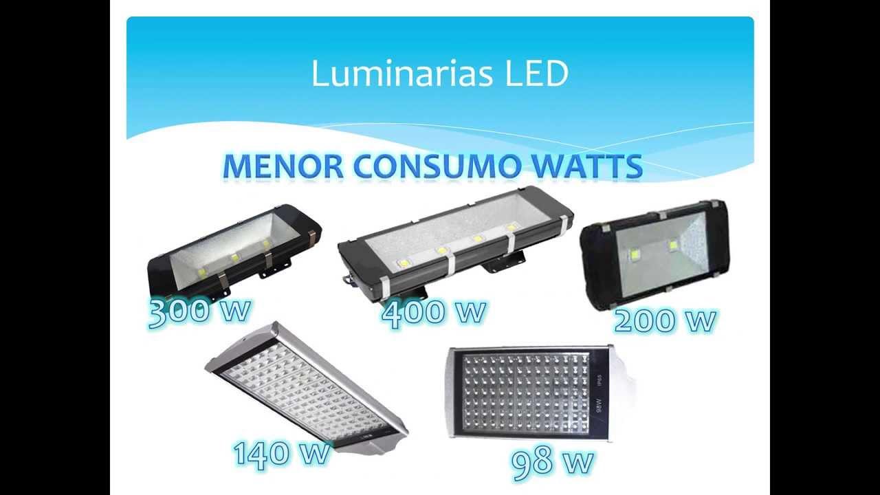 Iluminaci n de canchas led mexico youtube - Lamparas solares de led ...