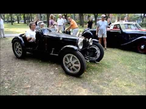 1937 BUGATTI TYPE 37 EXACT REPLICA START UP & REV