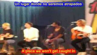 Let me take you there - Plain White   ( SUBTITULADA  ESPAÑOL  INGLES )