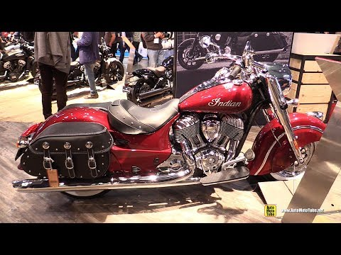 2018 Indian Chief Classic - Walkaround - 2017 EICMA Milan Motorcycle Exhibition