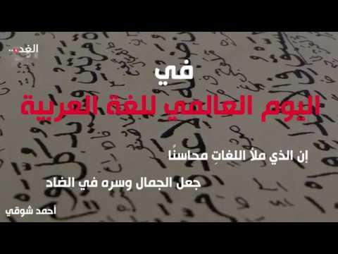 لماذا نعتز باللغة العربية؟  - نشر قبل 18 ساعة