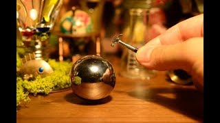 [miniature]Make a Perfect Polished Aluminum Foil Ball[stopmotion]
