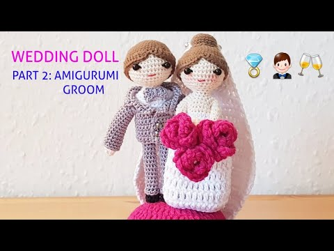 Pick Your Own Amigurumi Bride and Groom (mit Bildern) | Braut ... | 360x480
