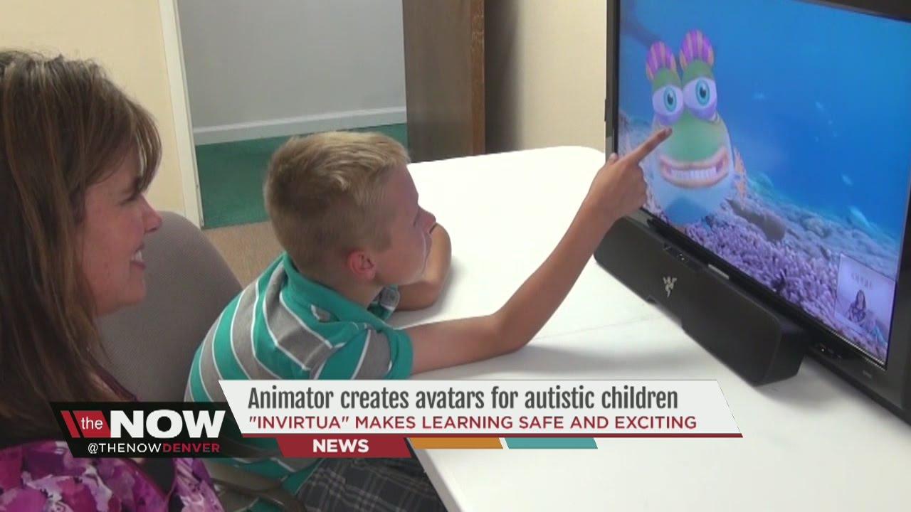 Animator creates digital avatars for autistic children