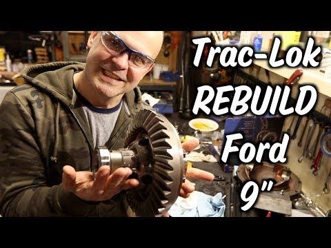3 17-Trac-Lok Rebuild - Ford 9